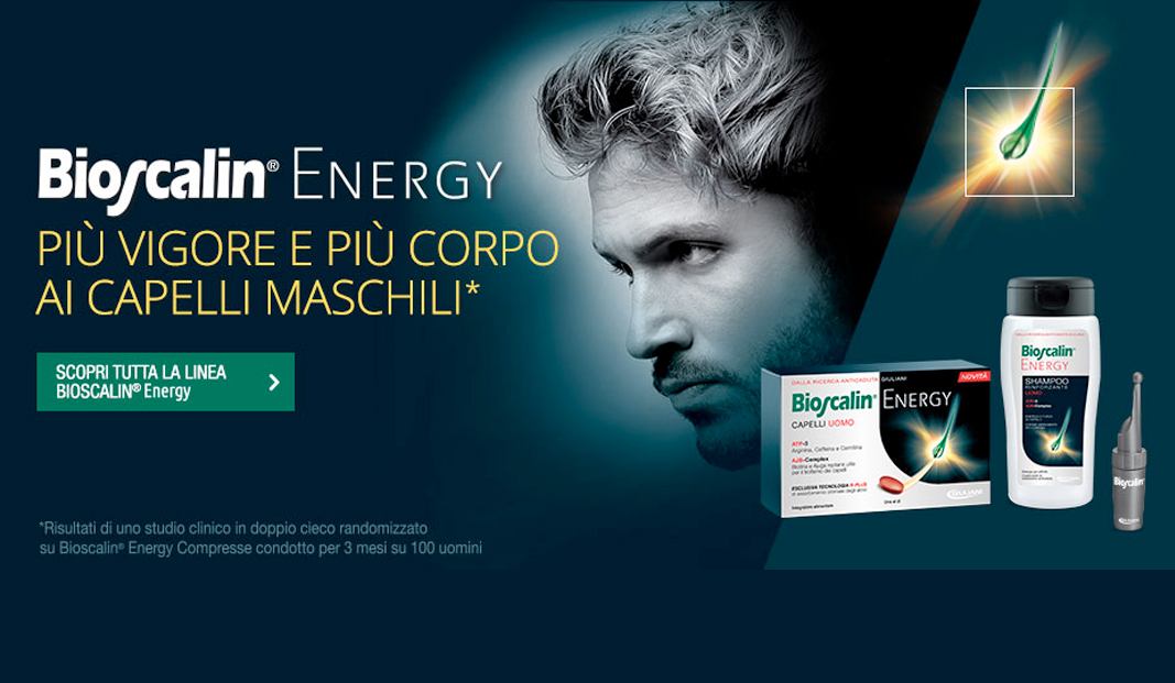Scopri bioscalin energy uomo