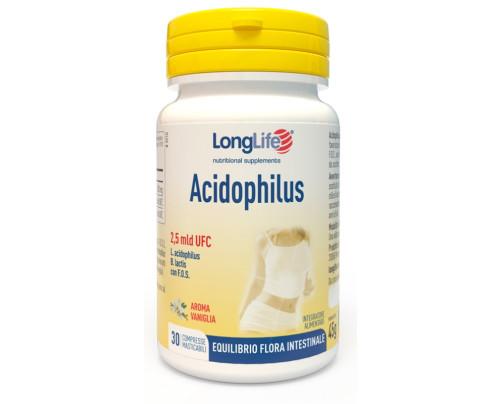 LONGLIFE ACIDOPHILUS 30TAV MAS