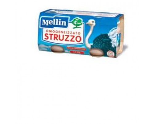 MELLIN OMOG STRUZZO 2X80G TEST