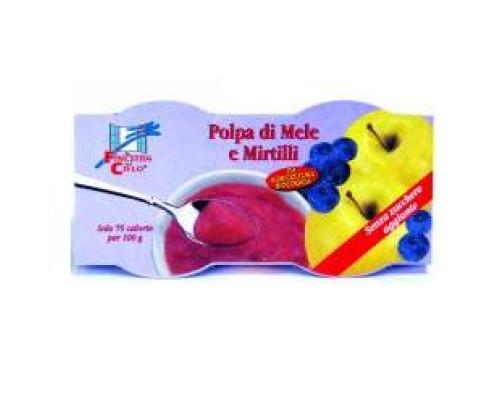 POLPA DI MELA/MIRTILLO BIO200G