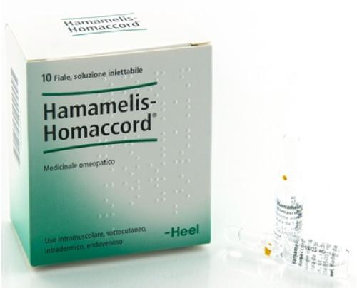 HAMAMELIS HOMAC 10F 1,1ML HEEL