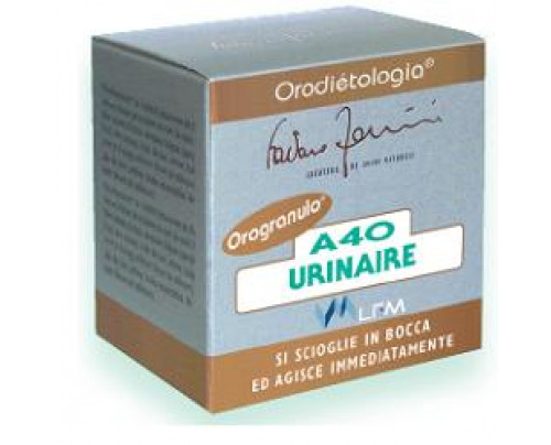 A40 URINAIRE OROGRANULI 16G