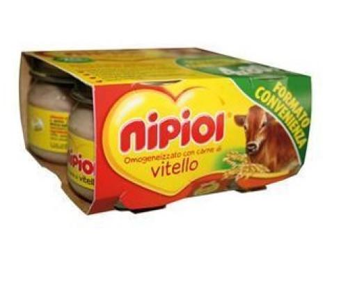 NIPIOL OMOG VITELLO 4X80G