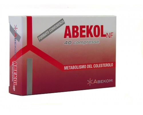 ABEKOL NF 40CPR