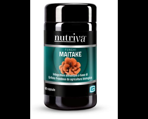 NUTRIVA MAITAKE 60VEGICAPS