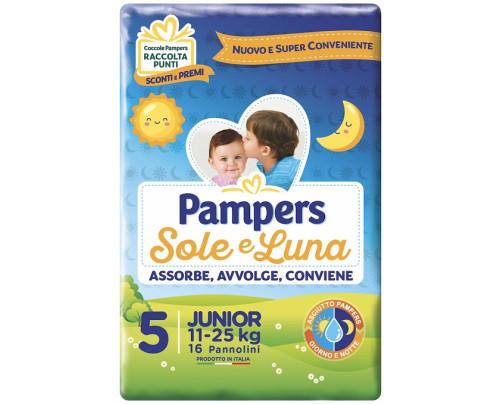 PAMPERS SOLE&LUNA FLASH J 16PZ