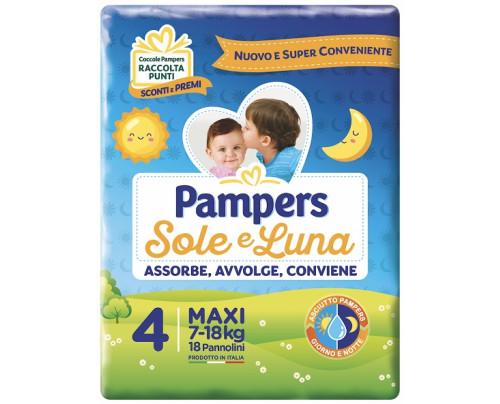 PAMPERS SOLE&LUNA MAXI 18PZ