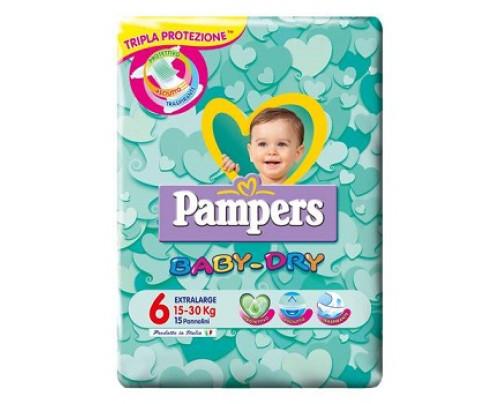 PAMPERS BD DWCT NO FLASH XL 15