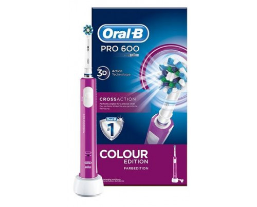 ORALB PC 600 ROSA CROSSACTION