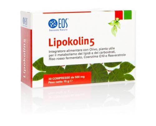 LIPOKOLIN 5 30CPR 500MG