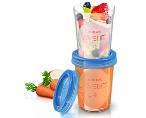 AVENT VASETTI VIA COP 240ML 5P