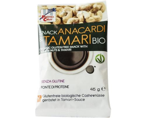 SNACK ANACARDI/TAMARI BIO 45G