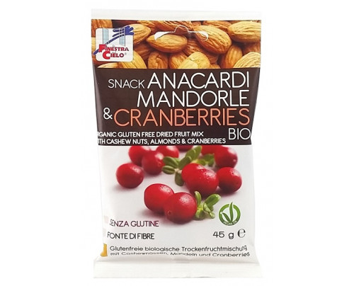 SNACK C/ANACARDI MAND&CRANBERR