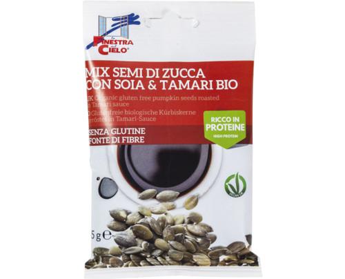 SNACK SEMI ZUCCA & TAMARI BIO