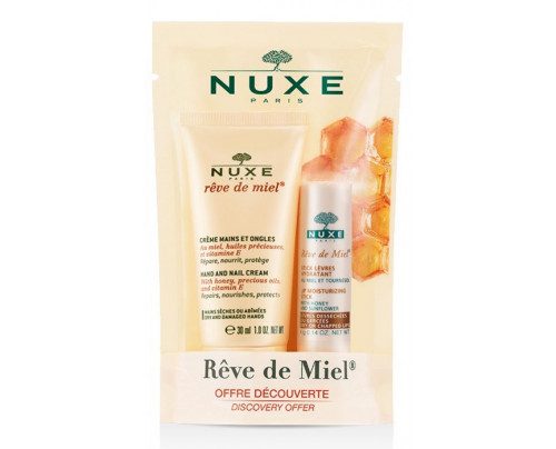 NUXE DUO CR MAI/ONG+STICK LEVR