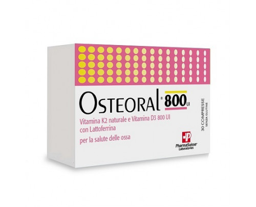 OSTEORAL 800 30CPR