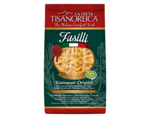 FUSILLI LOW CARB 44% PROT 250G