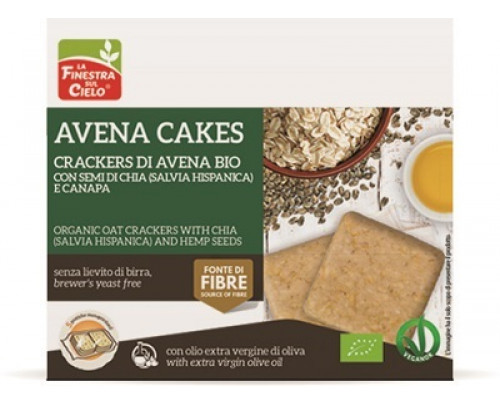 AVENACAKES CRACKERS AVE CAN/CH