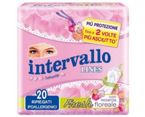 INTERVALLO FRESH RIPIEGATO 20P