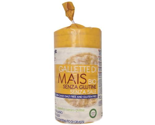 GALLETTE DI MAIS S/SALE BIO