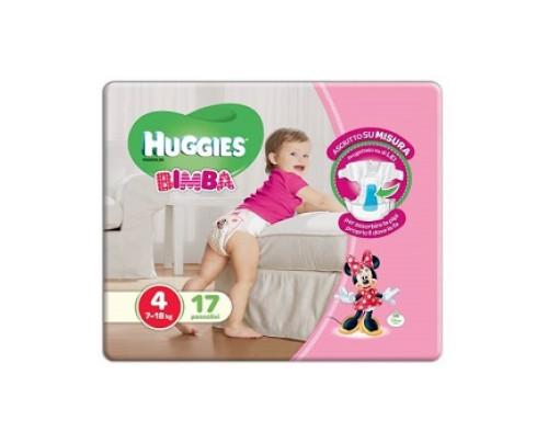 HUGGIES BASE GIRL 4 17PZ