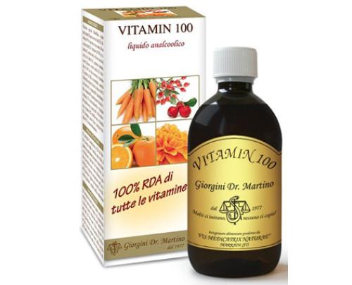 VITAMIN 100 LIQUIDO ANALC500ML
