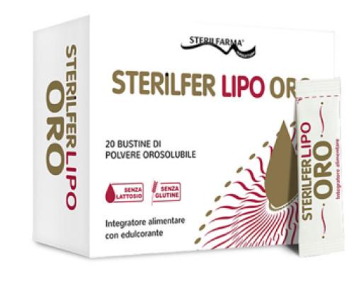 STERILFER LIPO ORO 20BUST