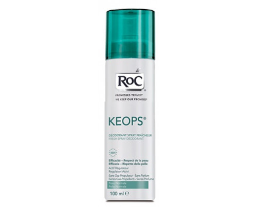 ROC KEOPS DEOD SPRAY FRESH 100