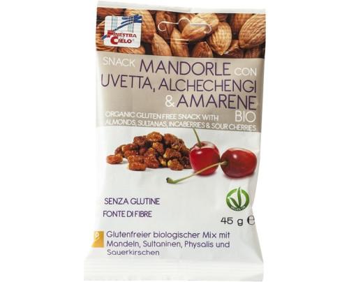 SNACK MANDORLE UVET/ALCHE/AMAR