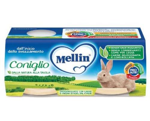 MELLIN OMOG CONIGLIO 2X120G