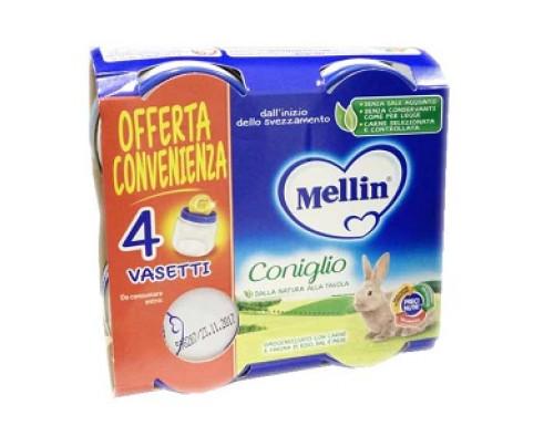 MELLIN OMOG CONIGLIO 4X80G