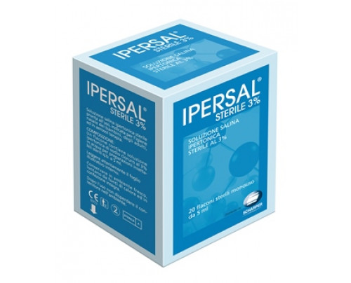 IPERSAL STERILE 3% 20FLAC 5ML