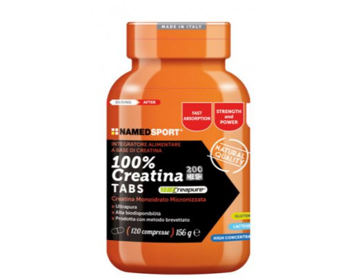 100% CREATINE TABS 120CPR