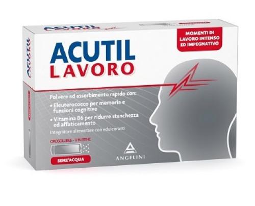 Acutil Lavoro 12 Bustine