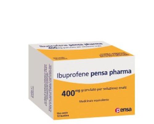 Ibuprofene Pensa Pharma 12 bustine 400 mg