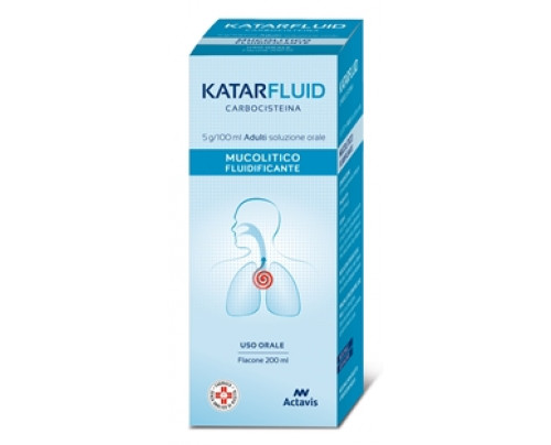Katarfluid Adulti Soluzione Adulti 200 ml