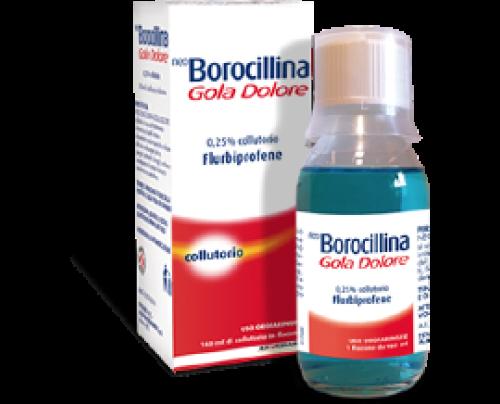 Neoborocillina Gola Dolore Colluttorio 160 ml