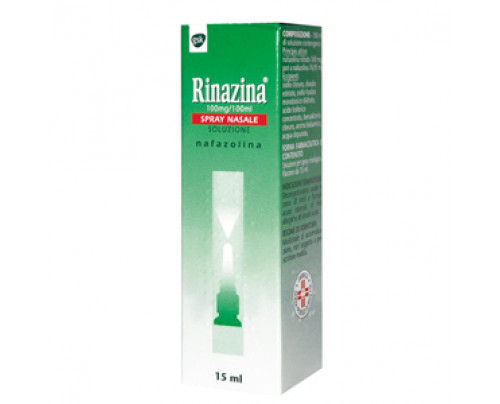 Rinazina Spray Nasale 15 ml 0,1%