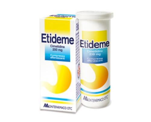 Etideme 10 compresse effervescenti 200 mg