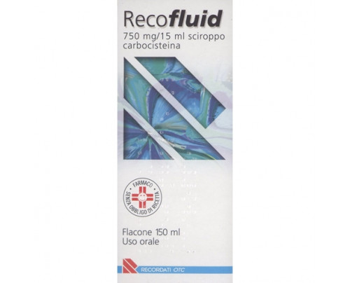 Recofluid Sciroppo flacone 150 ml 750 mg
