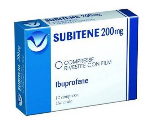 Subitene 12 compresse rivestite 200 mg