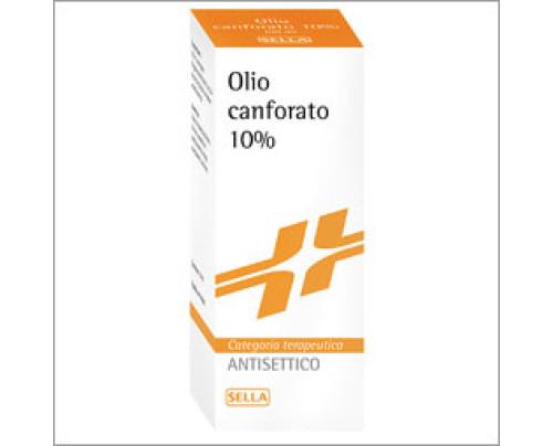 Canfora Sella 10% Soluzione Oleosa 100 g