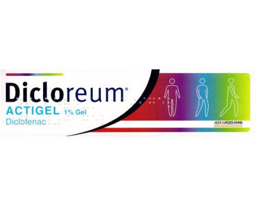 Dicloreum Actigel Gel 100 g 1%