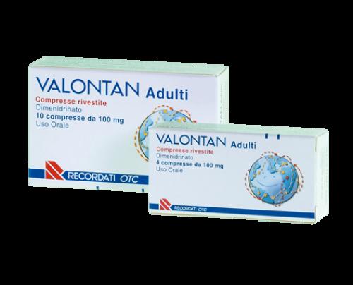 Valontan 4 Compresse Rivestite 10 mg