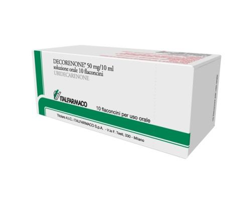 Decorenone 50 10 Flaconi 50 mg