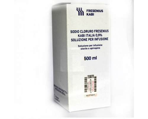 Sodio Cloruro FKI 0,9% 500 ml