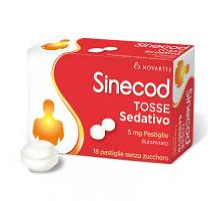 Sinecod Tosse Sedativo 18 pastiglie 5 mg