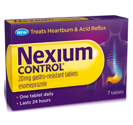 Nexium Control 7 Compresse Gastro Resistenti 20 mg