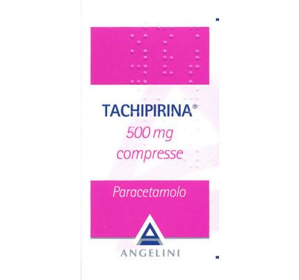 Tachipirina 500 mg Febbre e Dolore 20 Compresse